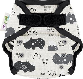 Ecopipo One size wrap Velcro Closure Rhinos