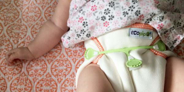 Ecopipo Reusable Prefold Nappies