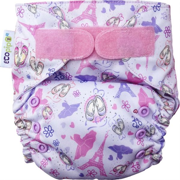 Ecopipo One size Pocket Nappy Ballet Dancer