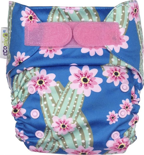 Ecopipo One size Pocket Nappy Cactus