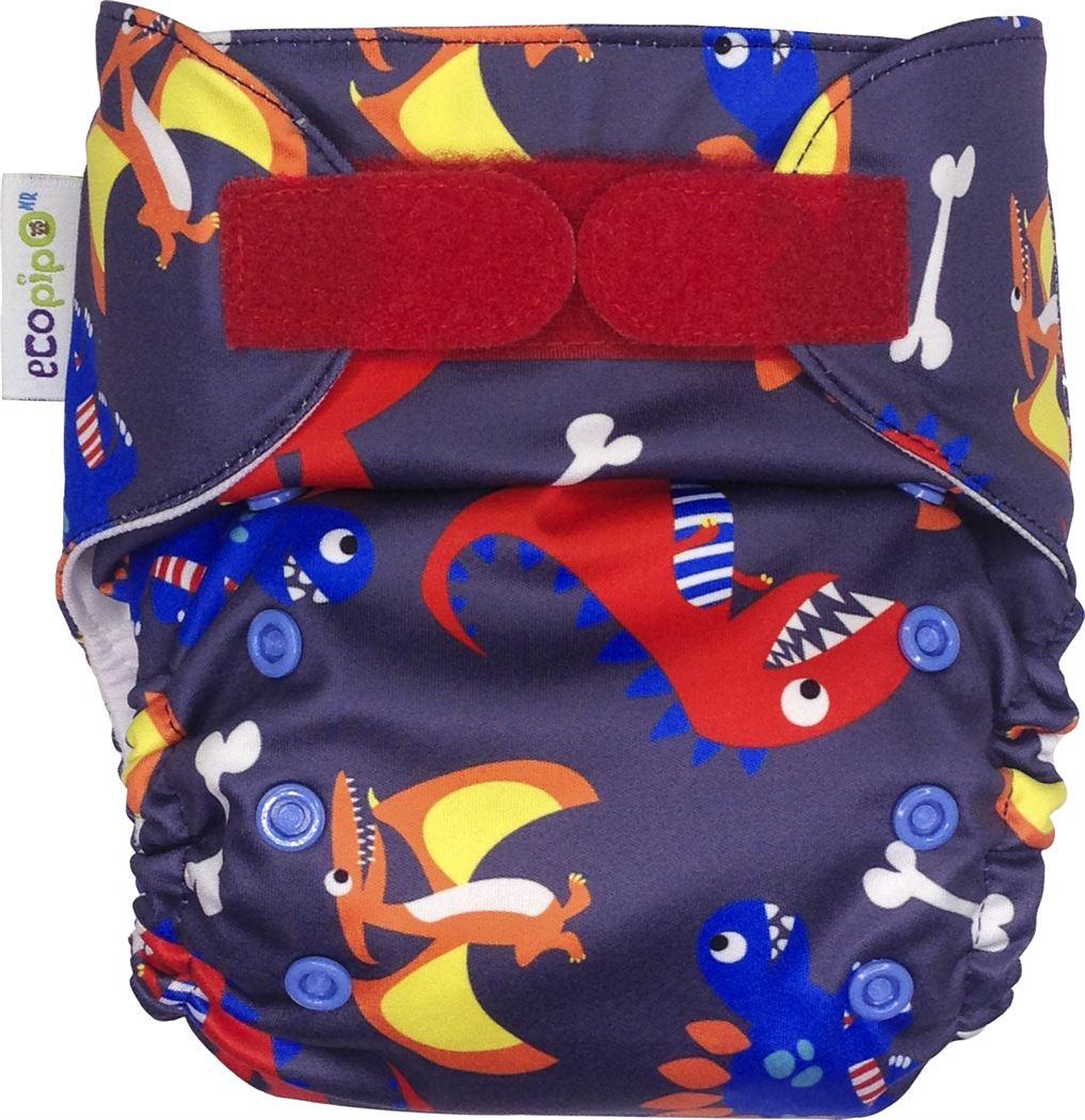 Ecopipo One size Pocket Nappy Dinos