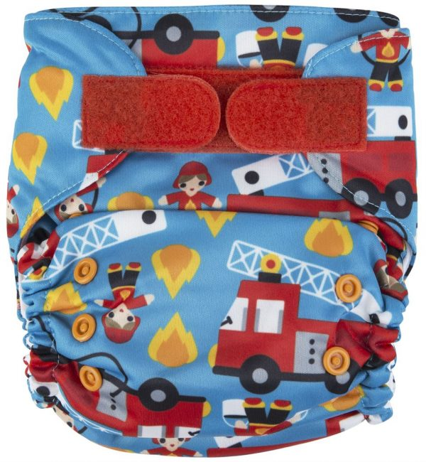 Ecopipo One size Pocket Nappy Firefighter