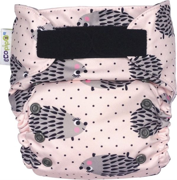 Ecopipo One size Pocket Nappy Hedgehogs