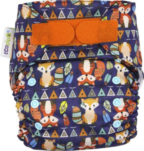 Ecopipo One size Pocket Nappy Mr Fox_s Adventures