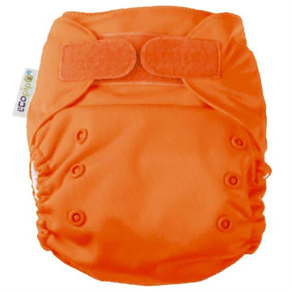 Ecopipo One size Pocket Nappy Orange