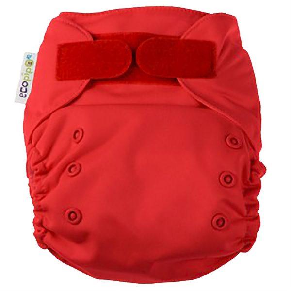 Ecopipo One size Pocket Nappy Red