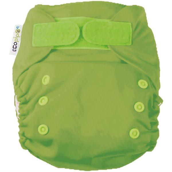 Ecopipo One size Pocket Nappy Spring Green