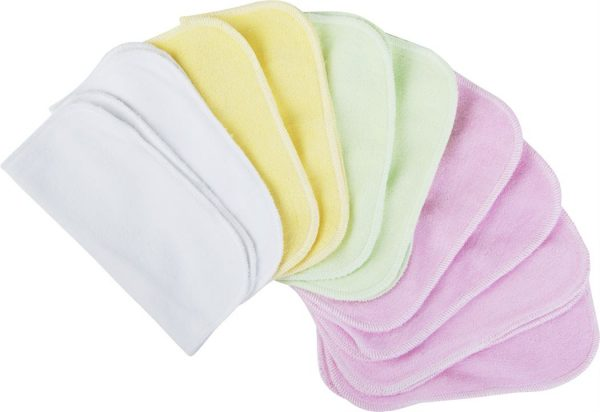 Ecopipo Washable wipes including pink 1