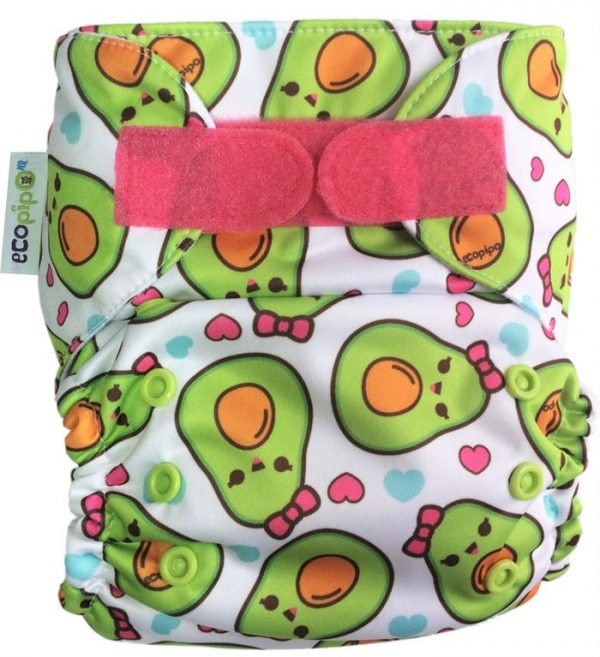 Ecopipo One size Pocket nappy Avocados