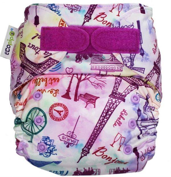 Ecopipo One size Pocket nappy Oh la la Paris