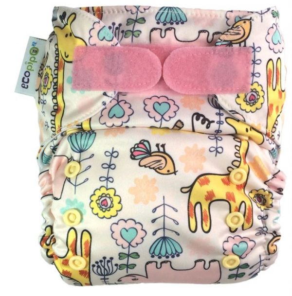 Ecopipo One size Pocket nappy Safari