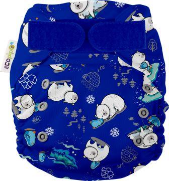 Ecopipo Onesize Pocket Nappy Polar Bears