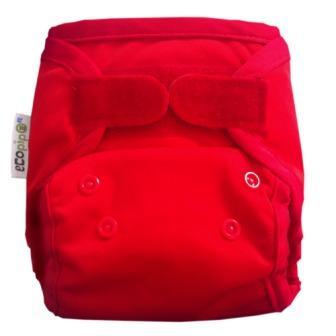 copipo Reusable Newborn Nappy wrap red