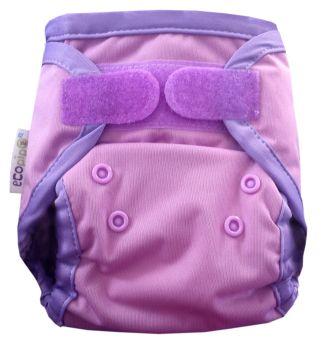 Ecopipo Newborn Nappy Wrap Lilac