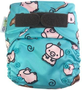 Ecopipo One size Pocket nappy Piglets