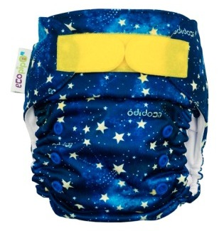 Ecopipo One size Pocket nappy Stardust