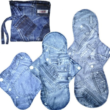 Lubella by Ecopipo Starter pads kit Blue Jeans