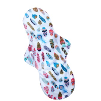 Reusable cloth sanitary pads night time incontinence after birth little feathers