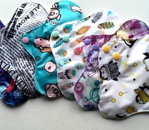 Reusable cloth sanitary pads pantyliner