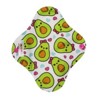 Reusable cloth sanitary pads pantyliner avocados