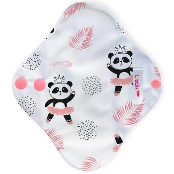 Reusable cloth sanitary pads pantyliner dancing panda