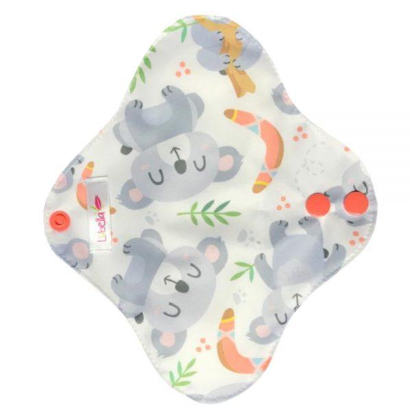 Reusable cloth sanitary pads pantyliner koalas