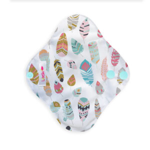 Reusable cloth sanitary pads pantyliner little feathers