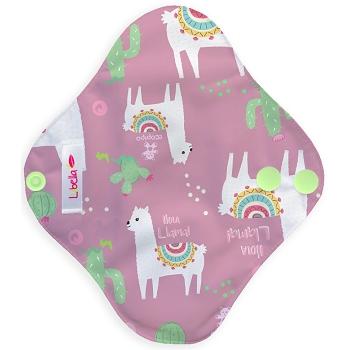 Reusable cloth sanitary pads pantyliner llamas