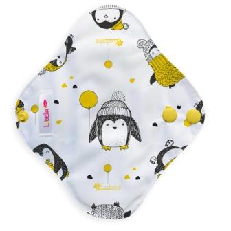 Reusable cloth sanitary pads pantyliner pinguins