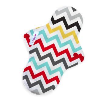 Reusable cloth sanitary pads regular chevron