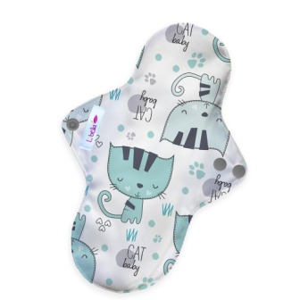 Reusable cloth sanitary pads regular kittens