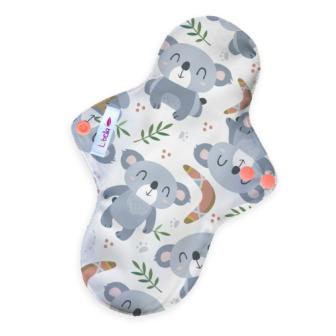 Reusable cloth sanitary pads regular koalas
