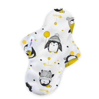 Reusable cloth sanitary pads regular pinguins