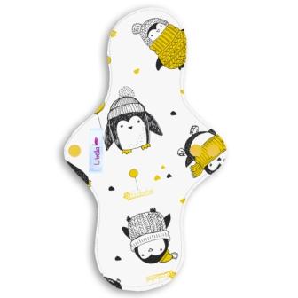 Reusable cloth sanitary pads regular teen pinguins