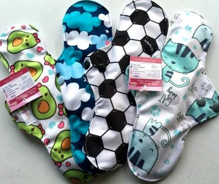 Reusable cloth sanitary pads regular teen