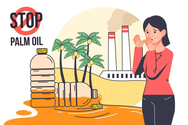 Say no to palm oil to stop production